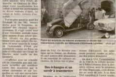 Quotidien Jurassien  en septembre 1999